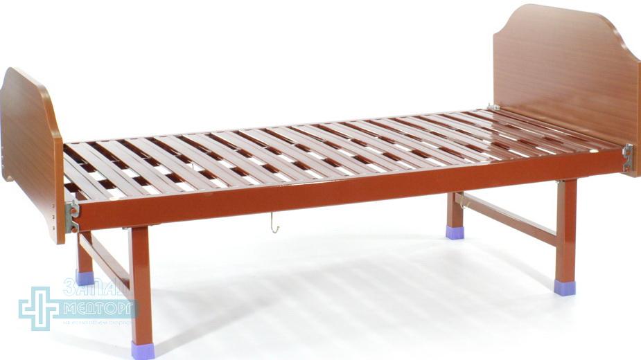 кровать механическая МК-1133 вид слева
