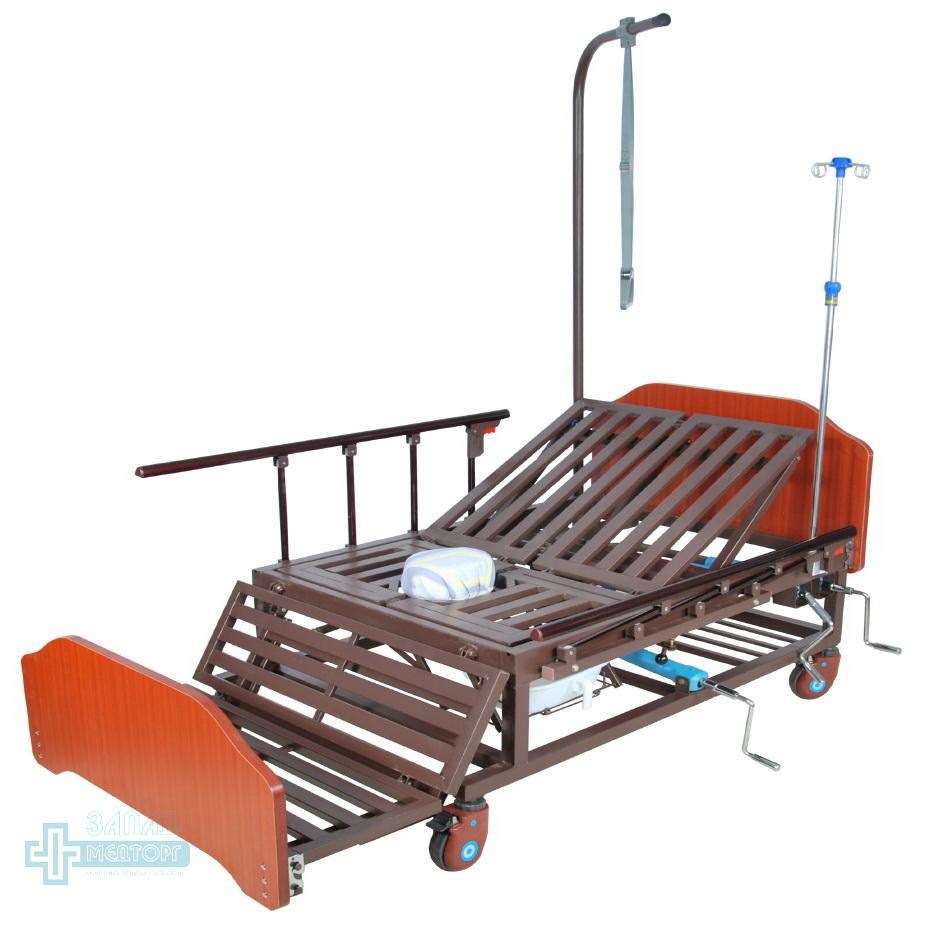 кровать медицинская механическая МК-1121 кресло