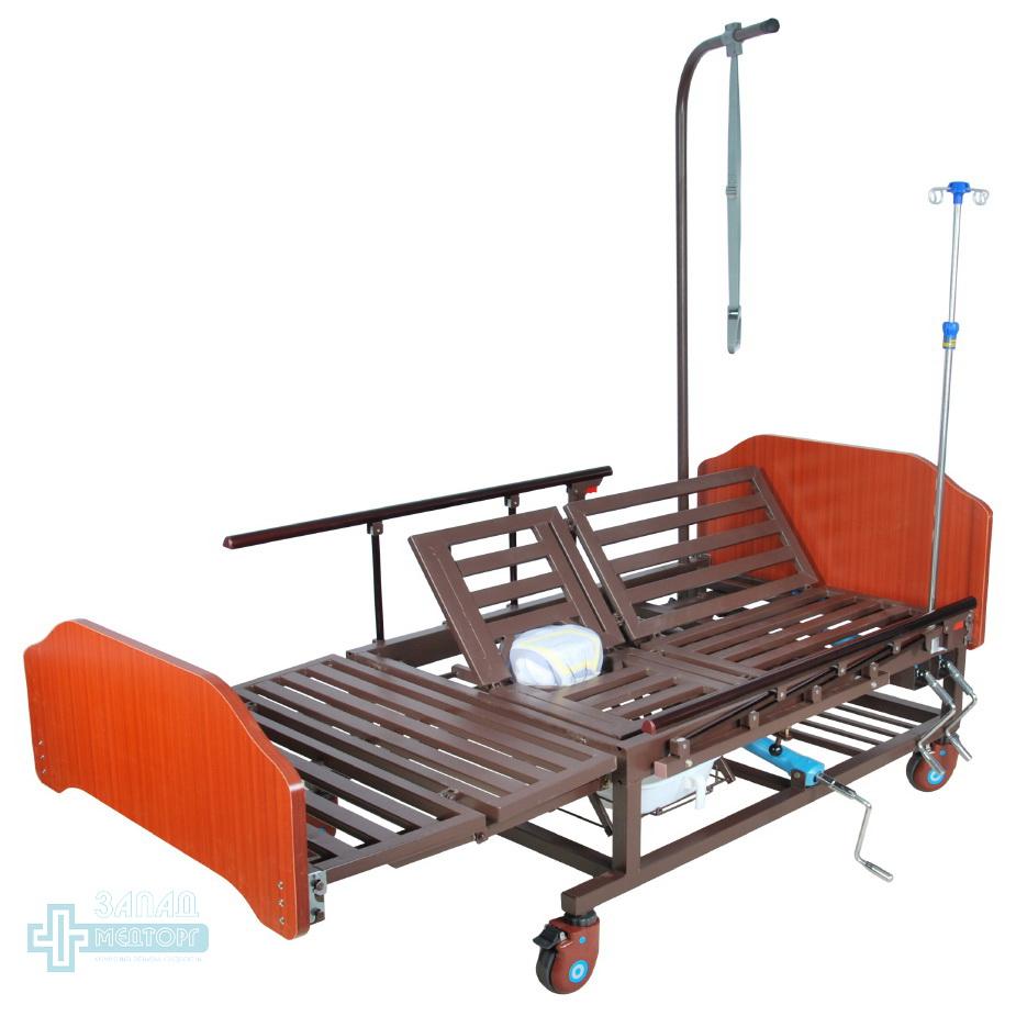 кровать медицинская механическая МК-1121 правый подъем