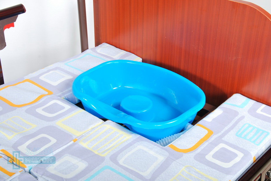 кровать медицинская механическая МК-1121 седло
