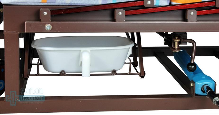 кровать медицинская механическая МК-1121 туалет