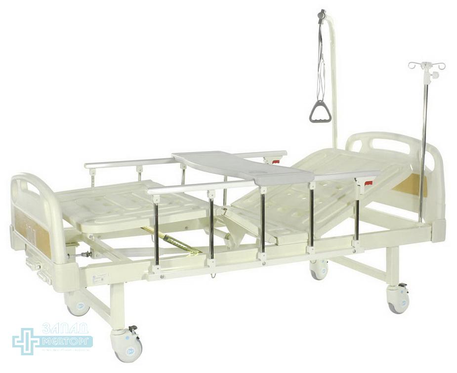 кровать механическая МК-1127 бортики столик