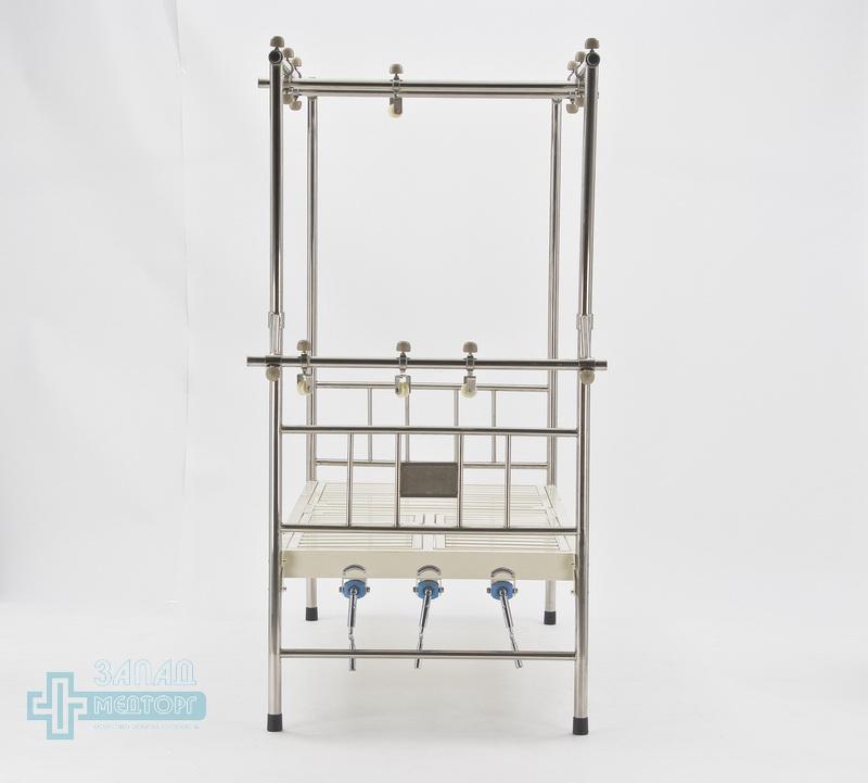 кровать ортопедическая медицинская МК-1119 зад