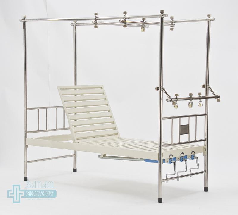 кровать ортопедическая медицинская МК-1119 подъем передний