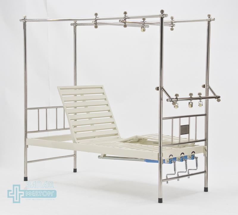 кровать ортопедическая медицинская МК-1119 левый ножной частично