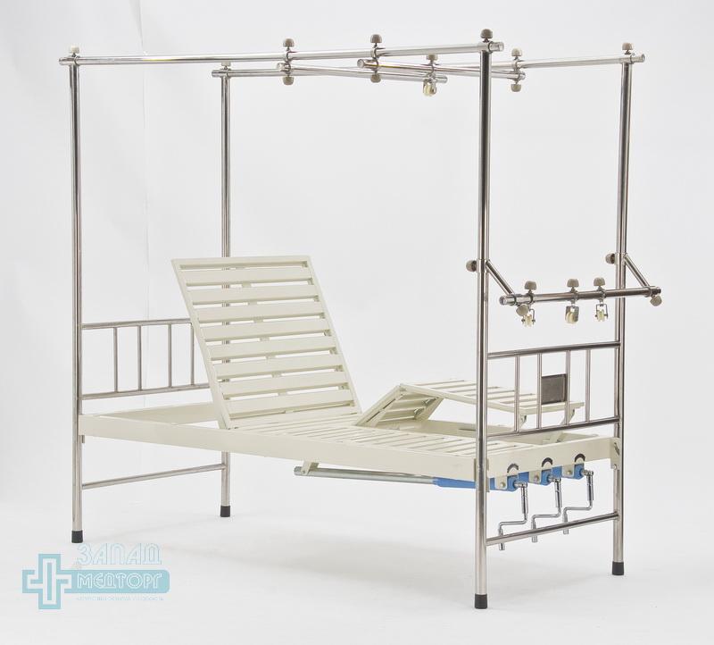 кровать ортопедическая медицинская МК-1119 левый ножной