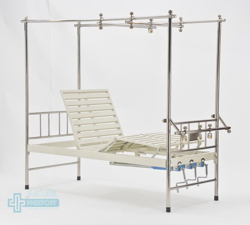 кровать ортопедическая медицинская МК-1119 подъем передний и ноги