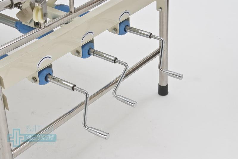 кровать ортопедическая медицинская МК-1119 ручки регулировки