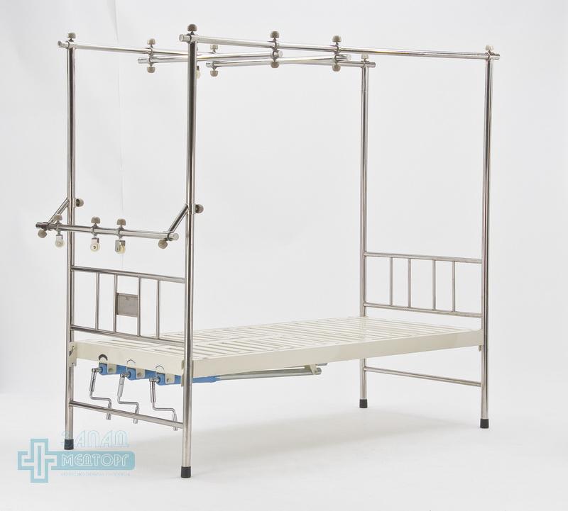 кровать ортопедическая медицинская МК-1119 лево зад