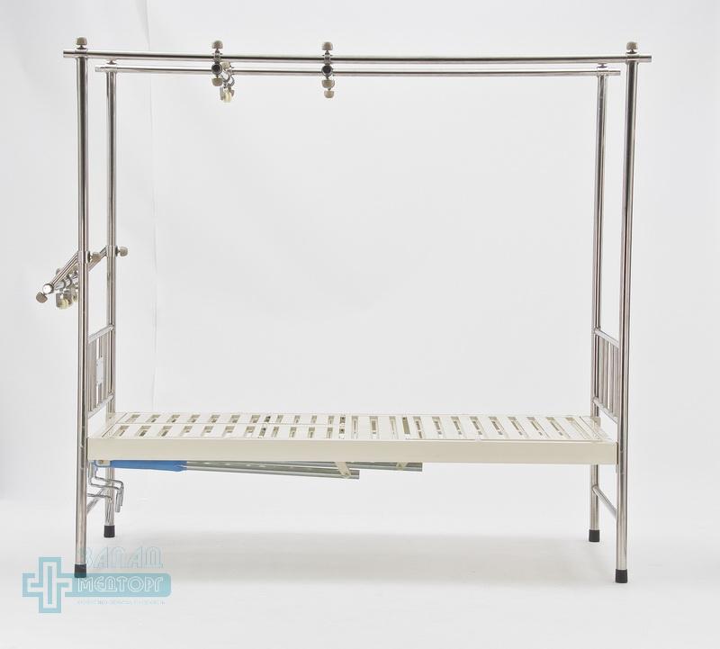 кровать ортопедическая медицинская МК-1119 лево