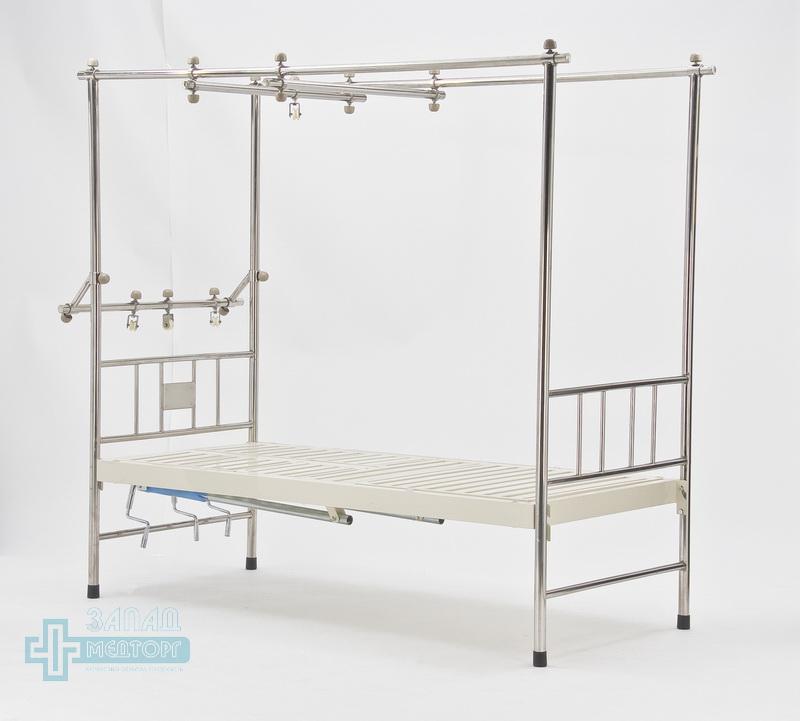 кровать ортопедическая медицинская МК-1119 лево перед