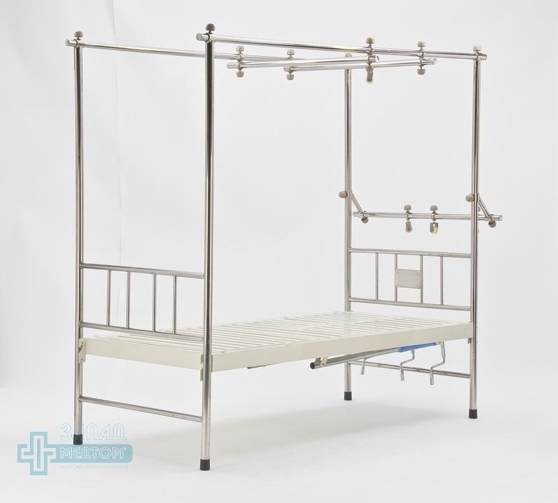 кровать ортопедическая медицинская МК-1119 право перед