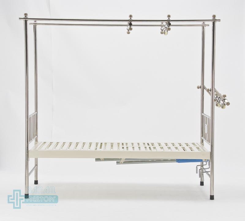 кровать ортопедическая медицинская МК-1119 право