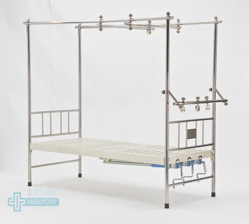 кровать ортопедическая медицинская МК-1119 прямо