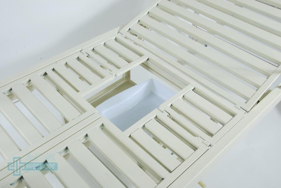кровать ортопедическая медицинская МК-1118 отверстие для туалета