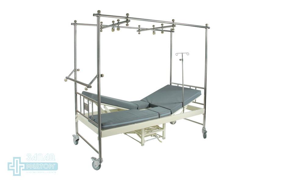 кровать ортопедическая медицинская МК-1118 правая нога