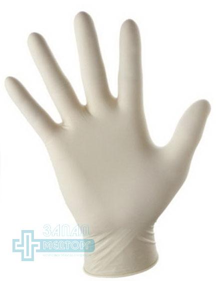 перчатки медицинские латексные смотровые стерильные