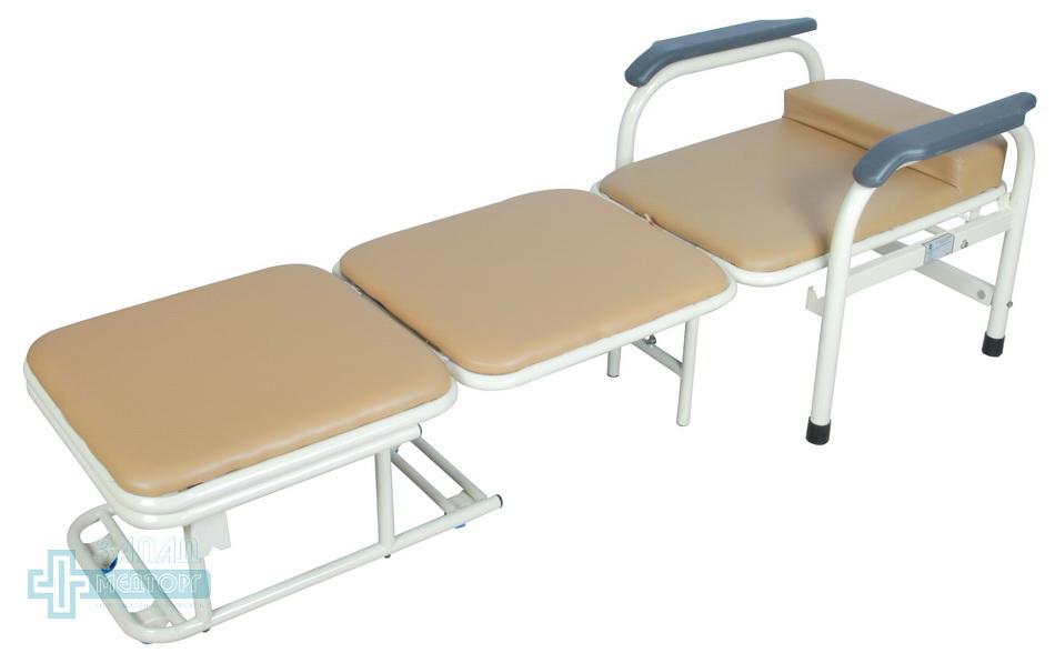 кресло кровать медицинское МКК-1120 расложена