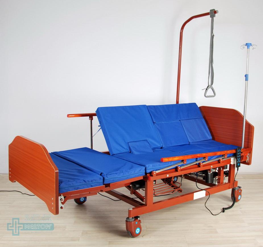 кровать медицинская электрическая МК-129 с матрацом 3