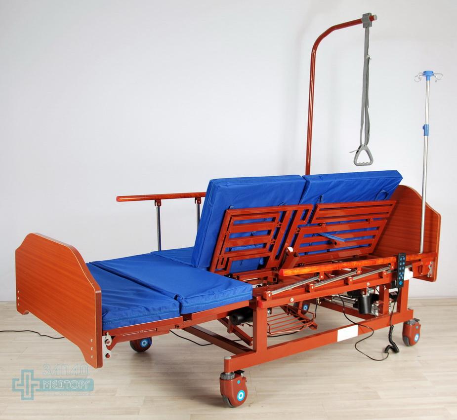 кровать медицинская электрическая МК-129 с матрацом 2