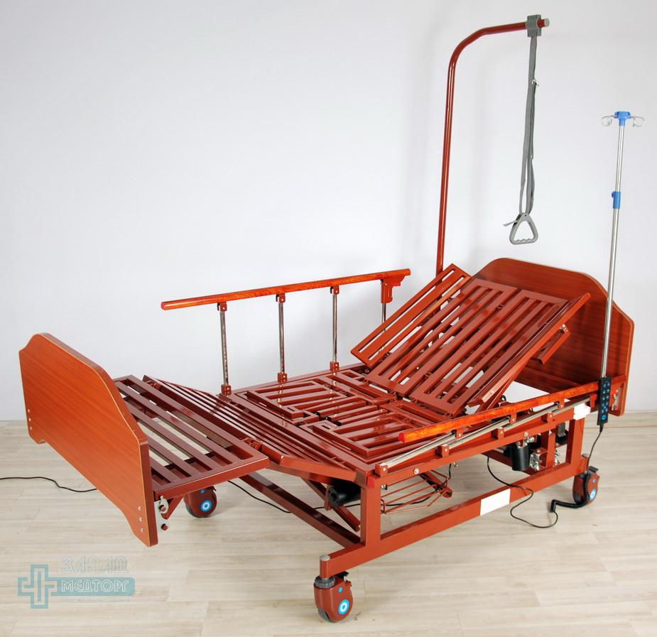 кровать медицинская электрическая МК-129 регулировка 6
