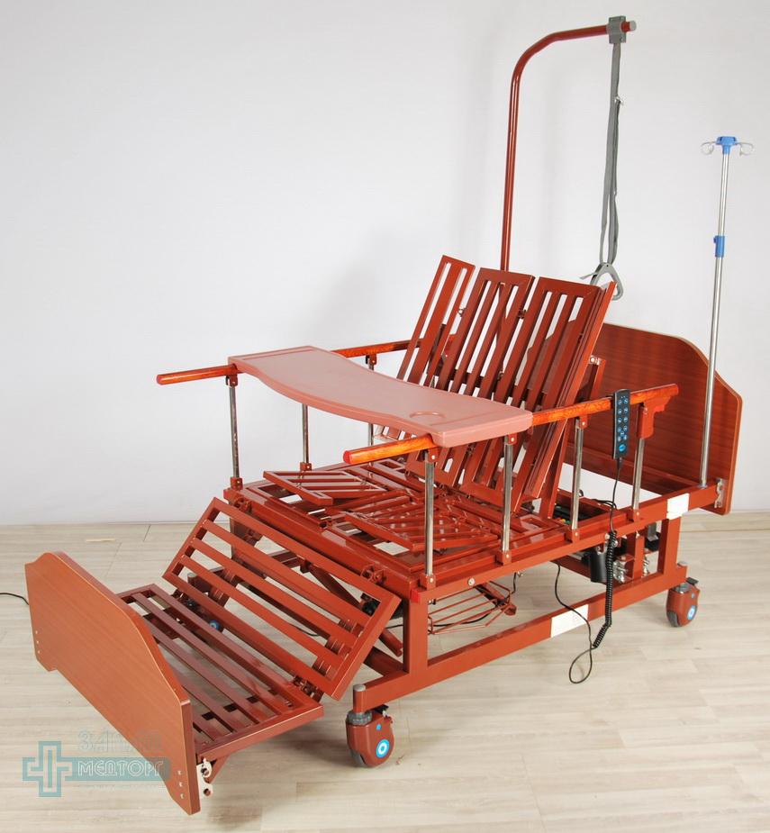 кровать медицинская электрическая МК-129 регулировка 5