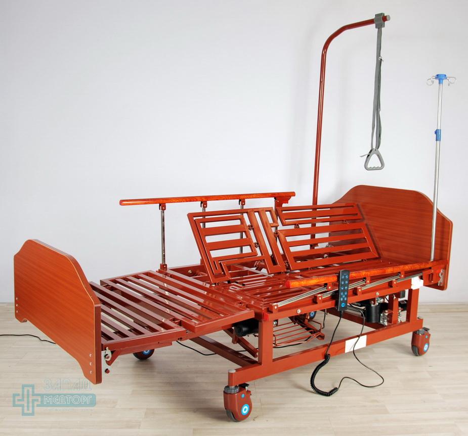 кровать медицинская электрическая МК-129 регулировка 4