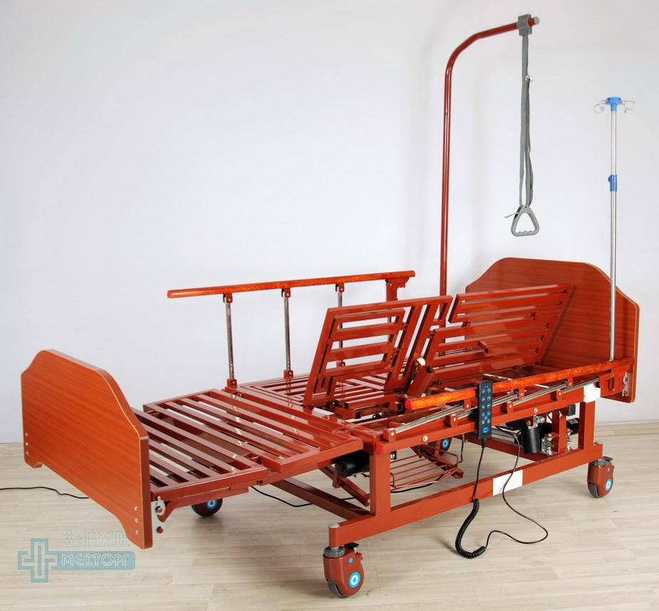 кровать медицинская электрическая МК-129 регулировка 3
