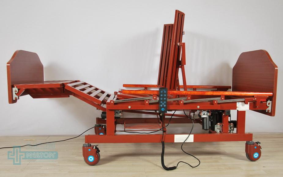 кровать медицинская электрическая МК-129 регулировка 2