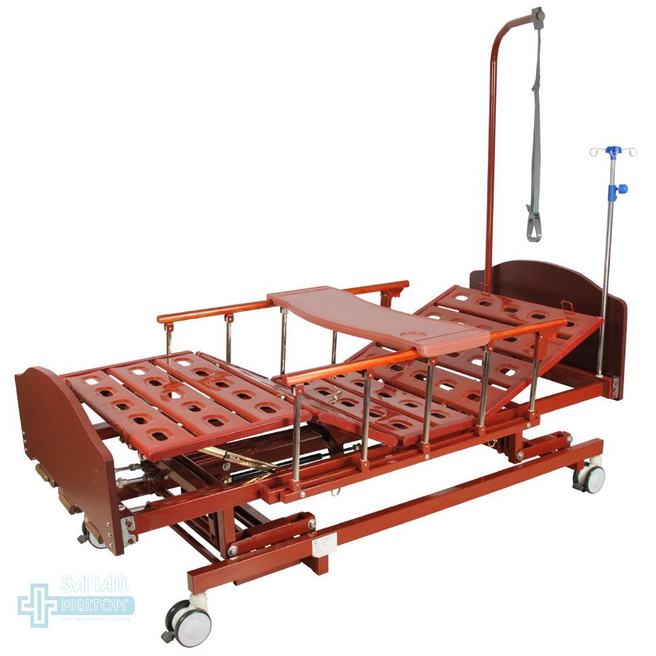 кровать медицинская механическая МК-1124