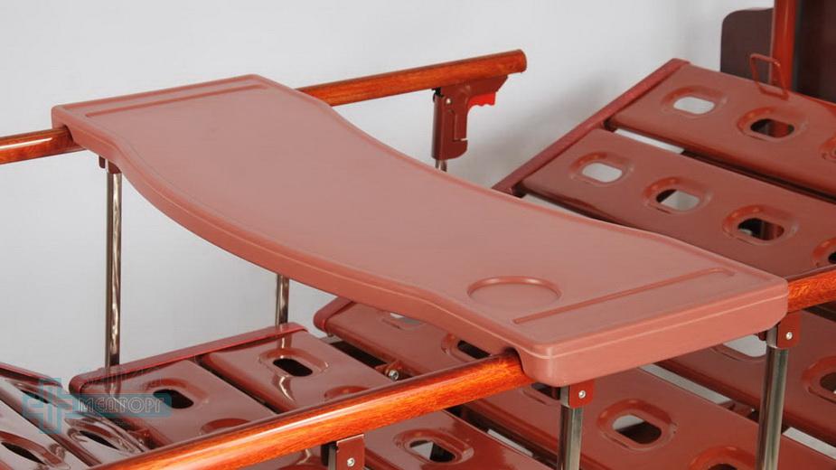 кровать медицинская механическая МК-1124 столик