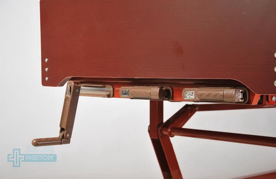 кровать медицинская механическая МК-1124 ручка управления