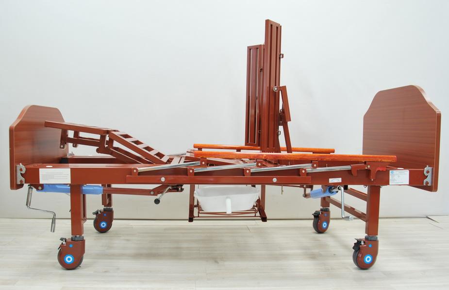 кровать медицинская механическая МК-1122 подъем вертикальный