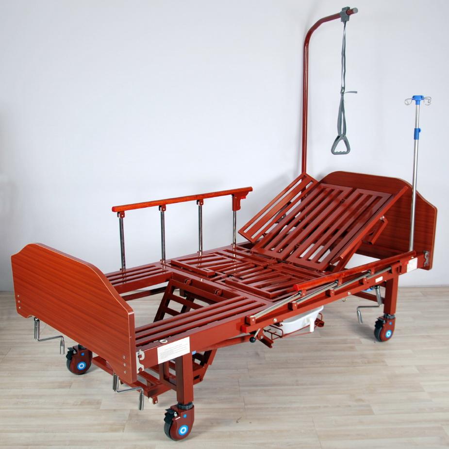 кровать медицинская механическая МК-1122 кресло