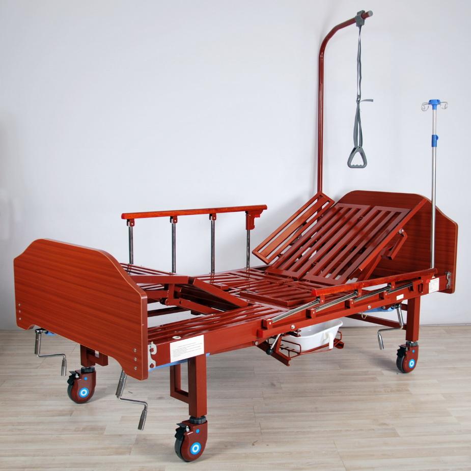 кровать медицинская механическая МК-1122 голова подъем