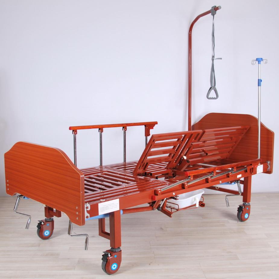 кровать медицинская механическая МК-1122 левый подъем