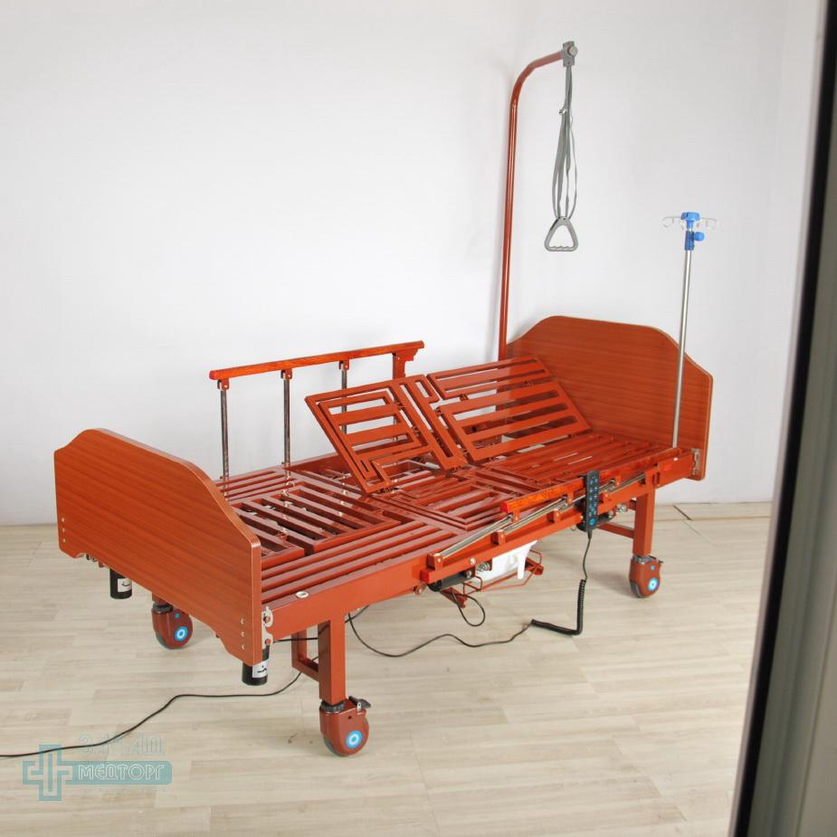 кровать медицинская электрическая МК-1211 правый подъем