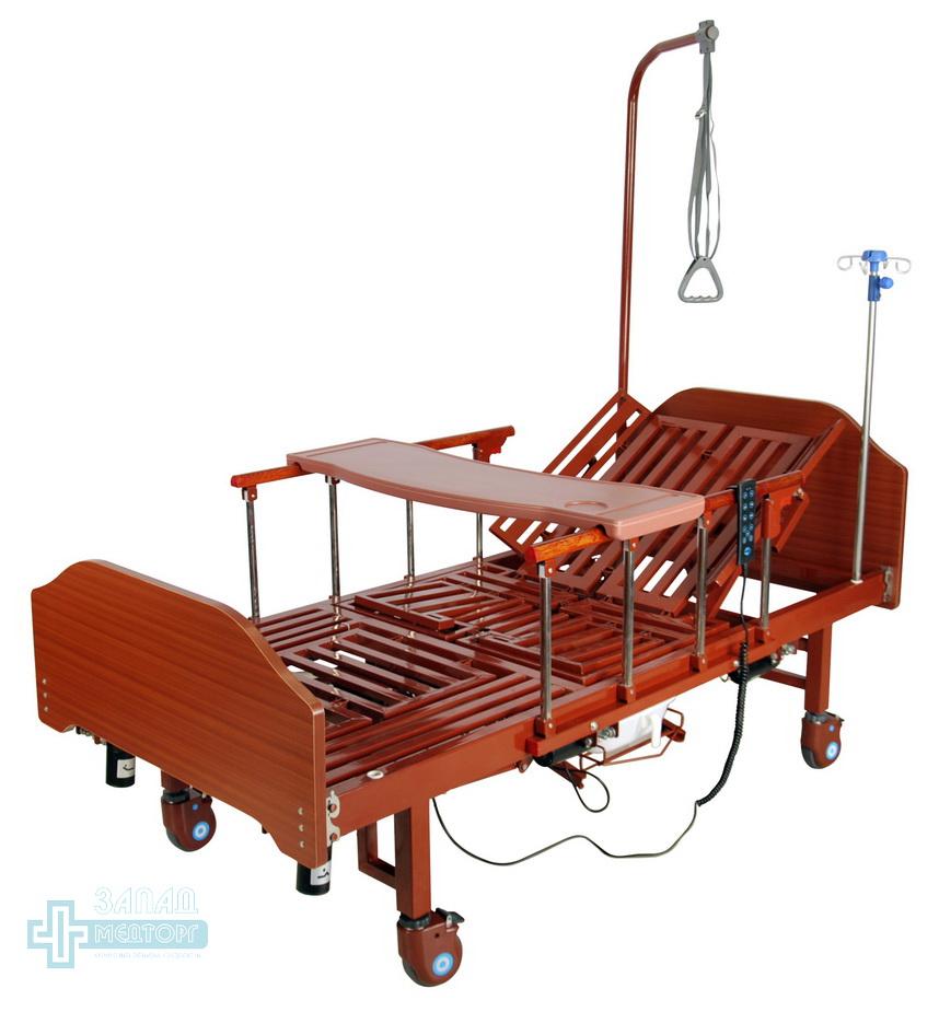 кровать медицинская электрическая МК-1211 столик