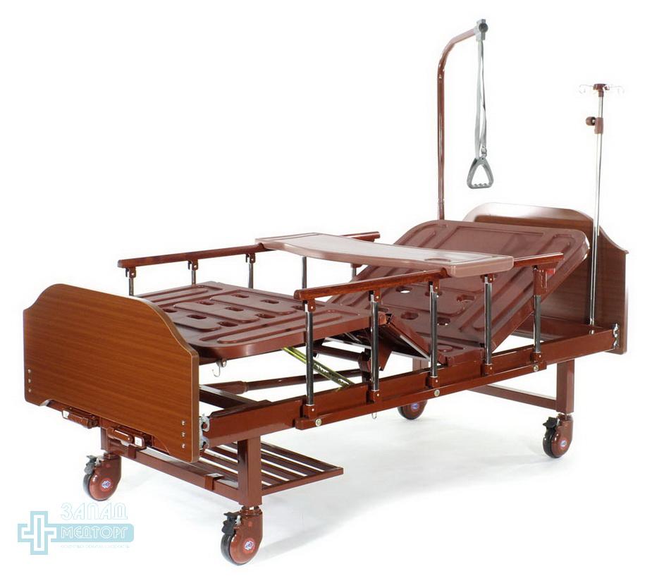 кровать медицинская механическая МК-1126