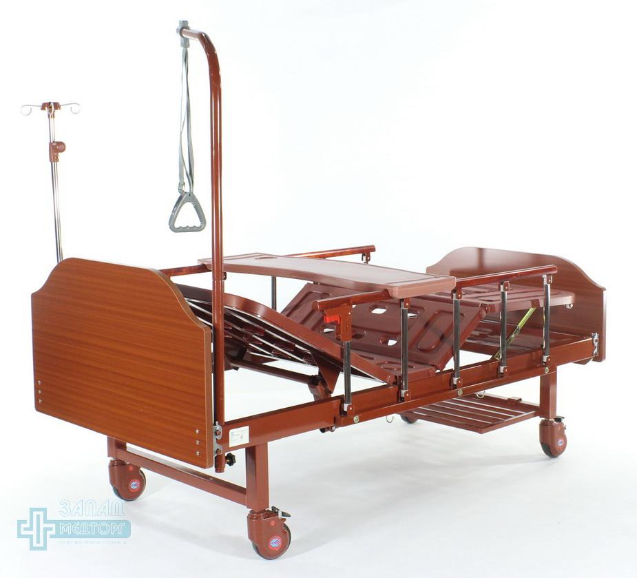 кровать медицинская механическая МК-1126 стойки