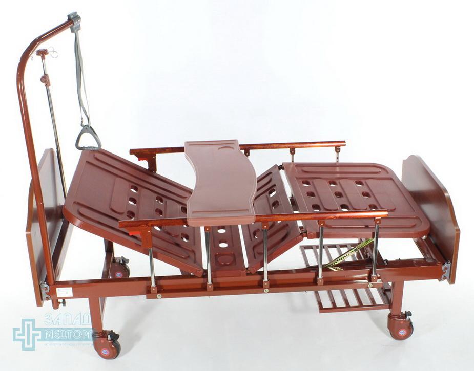 кровать медицинская механическая МК-1126 регировки