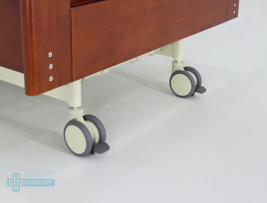 кровать медицинская электрическая МК-126 колеса