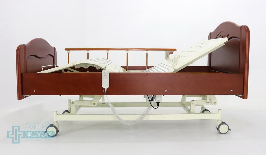 кровать медицинская электрическая МК-126 левый
