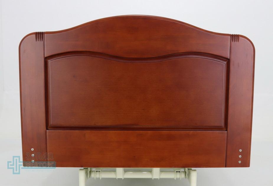 кровать медицинская электрическая МК-126 спинка задняя