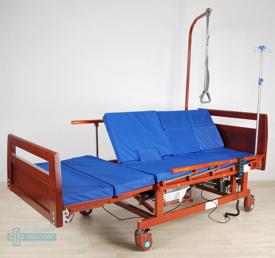 кровать медицинская электрическая МК-128 регулировка 2