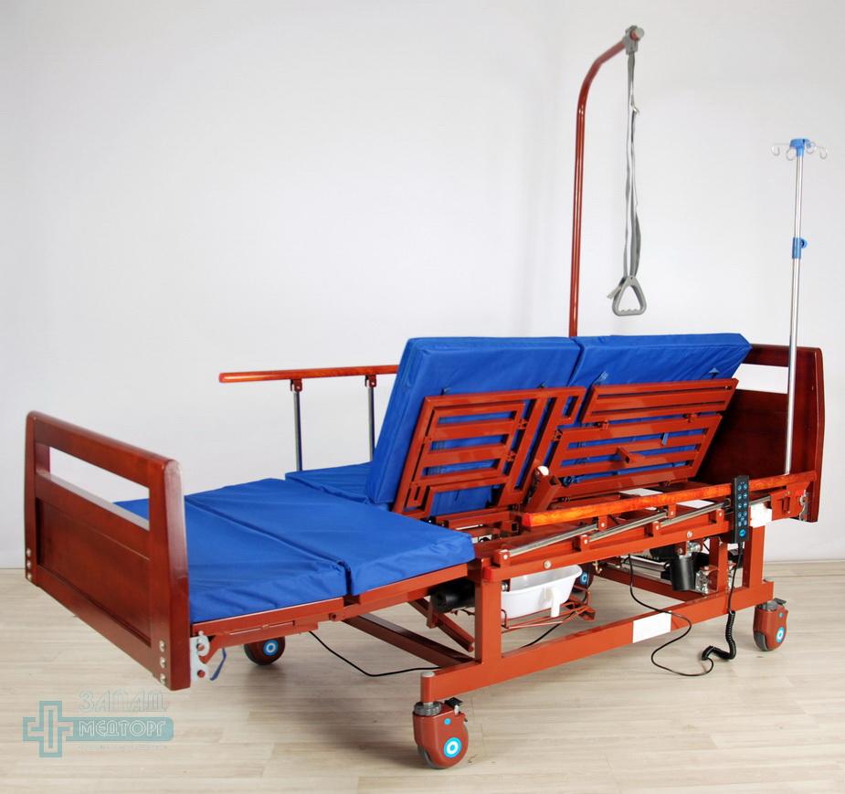 кровать медицинская электрическая МК-128 регулировка 1