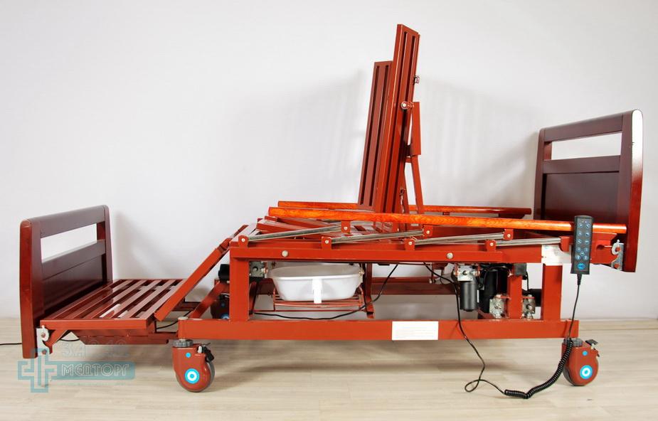 кровать медицинская электрическая МК-128 без матраца 5