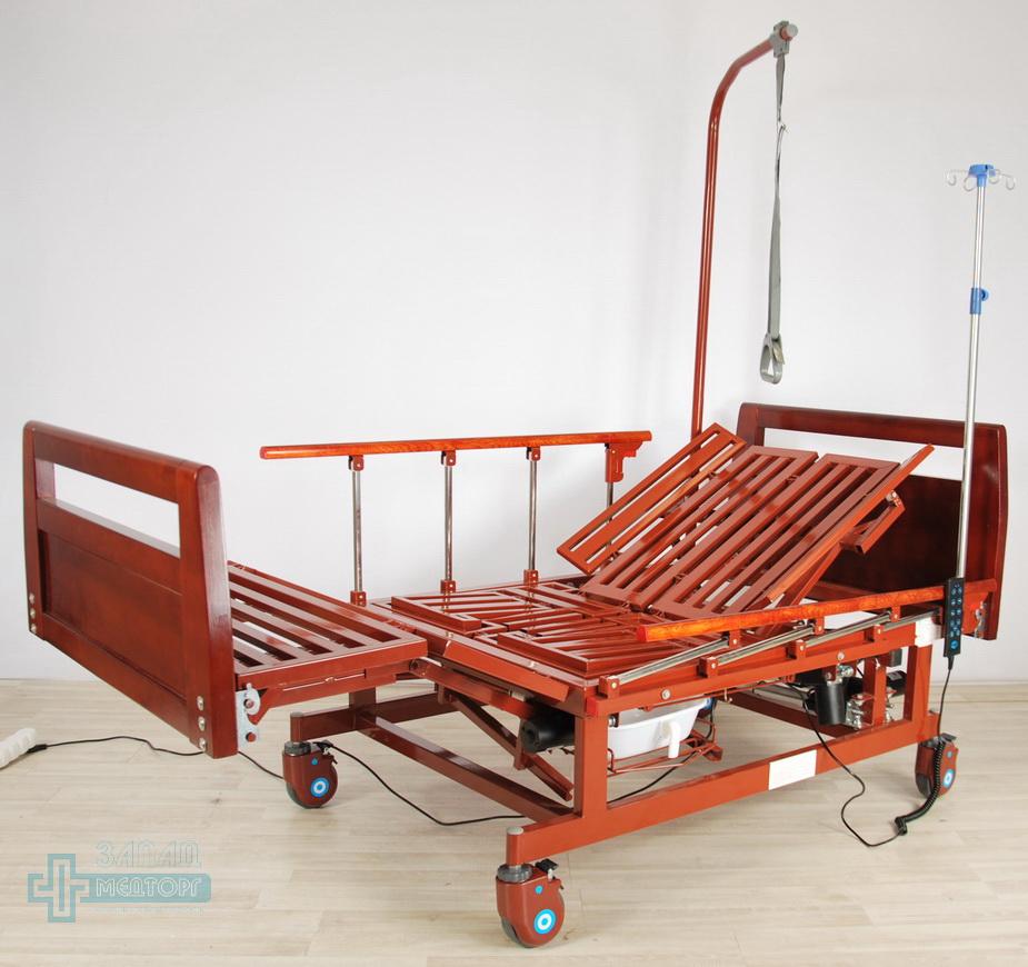 кровать медицинская электрическая МК-128 без матраца 3