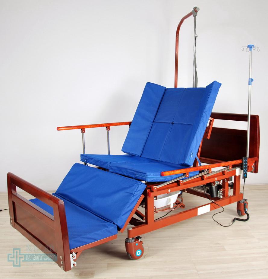 кровать медицинская электрическая МК-128 регулировка 5