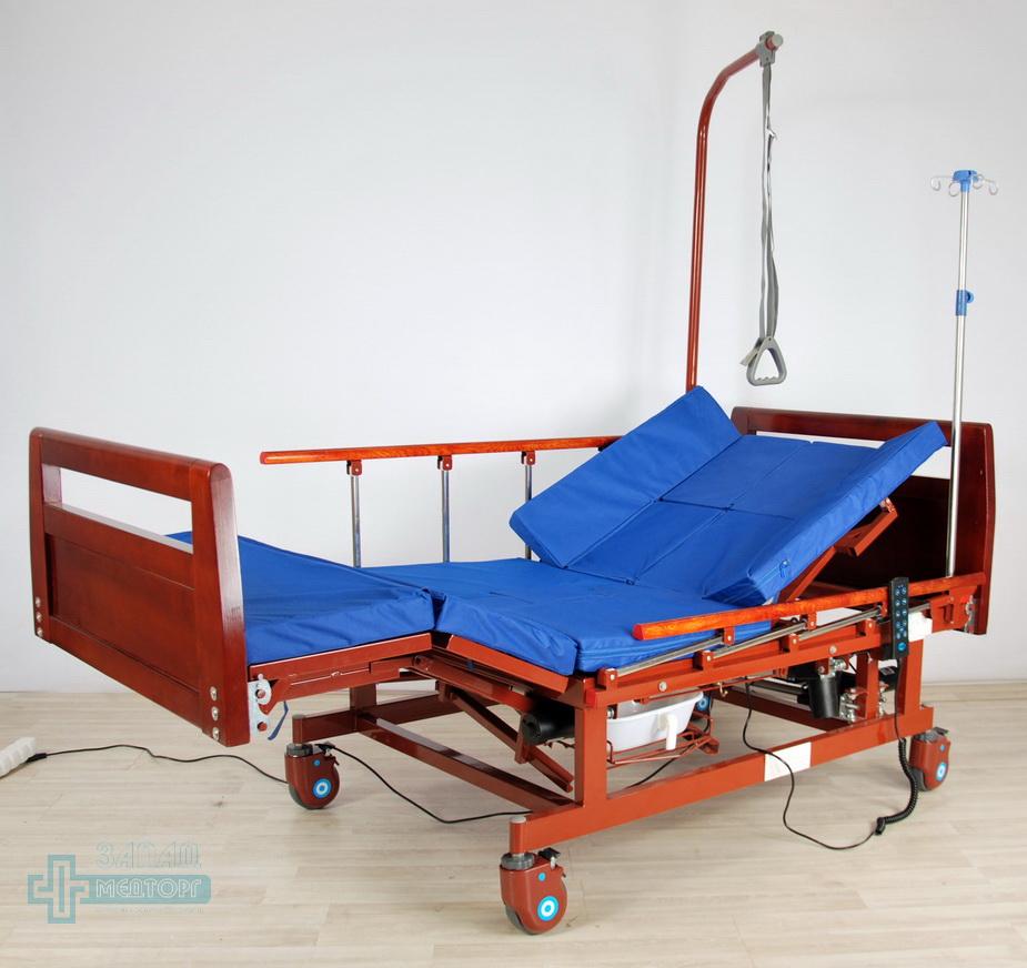кровать медицинская электрическая МК-128 регулировка 3